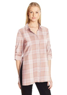 BCBGeneration Women's Tunic Button Front Shirt