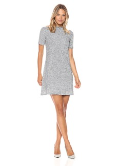 BCBGeneration Women's Turtle Neck a-Line Dress