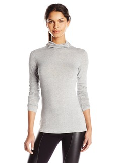 BCBGeneration Women's Turtle Neck Long Sleeve