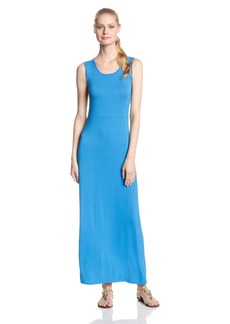 BCBGeneration Women's Twist Back maxi Dress