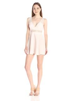Bcbgeneration Women's V-Neck A-line Lace Dress