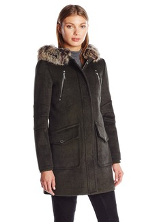 BCBGeneration Women's Wool Duffle Coat  XL