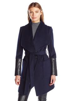 BCBGeneration Women's Wrap Wool Coat  S