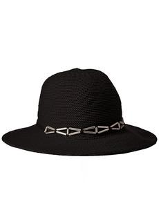 BCBGeneration Women's X Hardware Panama Hat