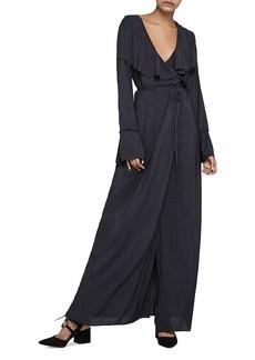 BCBGeneration Wrap Maxi Dress