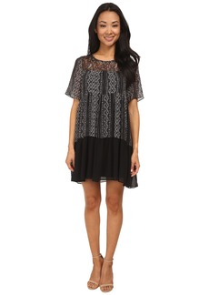 BCBGeneration Yoke Dress w/ Lace