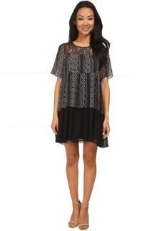 BCBGeneration Yoke Dress w/ Lace