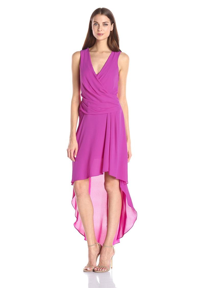 BCBGMax Azria Women's Abey Woven Evening Dress