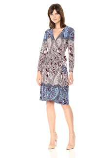 BCBGMax Azria Women's Adele Knit City Wrap Dress  XS