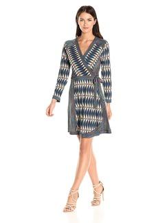 BCBGMax Azria Women's Adele Knit Wrap Dress  XS