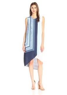 BCBGMax Azria Women's Adeleine Scarf-Print Dress