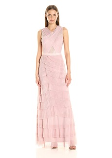 BCBGMax Azria Women's Adreanna Knit Evening Dress