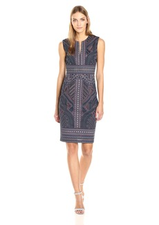 BCBGMax Azria Women's Aerona Knit Evening Dress