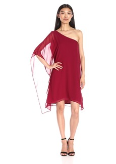 BCBGMax Azria Women's Alana Side Drape Dress
