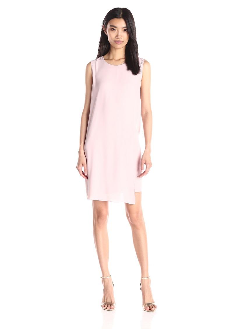 BCBG Max Azria BCBGMax Azria Women's Aleesha Sleeveless Asymmetrical Shift Dress