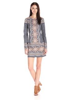 BCBGMax Azria Women's Allina Lace Long Sleeve Cocktail Dress