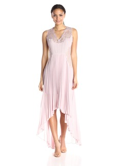 BCBGMax Azria Women's Angelea Woven Evening Dress