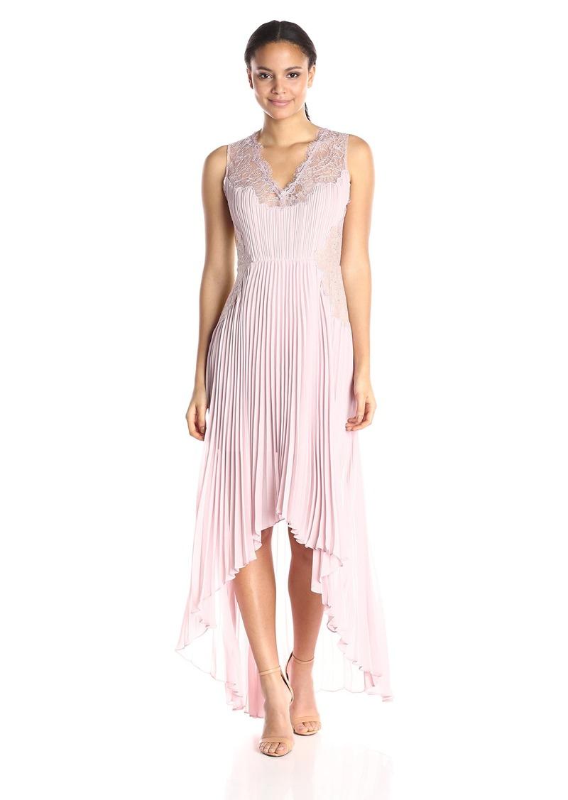 BCBGMax Azria Women's Angelea Woven Evening Dress