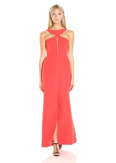 BCBG Max Azria BCBGMax Azria Women's Angie Long Halter Dress