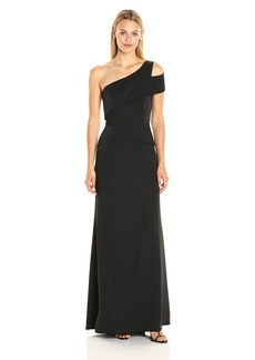 BCBGMax Azria Women's Annely Woven Evening Dress