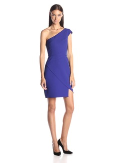 BCBGMax Azria Women's Aryanna Asymmetrical One Shoulder Dress