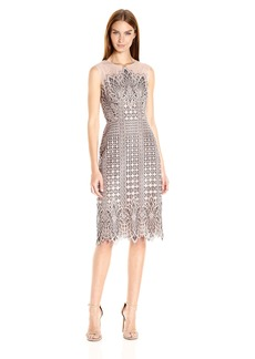 BCBGMax Azria Women's Belila Knit Evening Dress