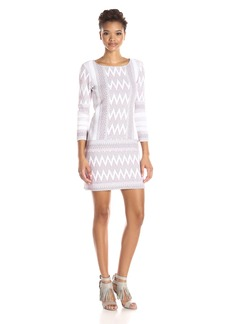 BCBGMax Azria Women's Beth Knit Casual Dress