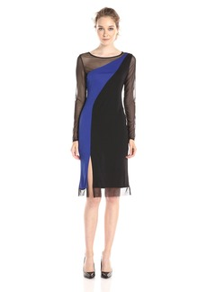 BCBG Max Azria BCBGMax Azria Women's Blaine Colorblock Dress