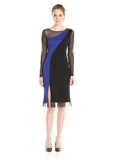BCBG Max Azria BCBGMax Azria Women's Blaine Colorblock Dress