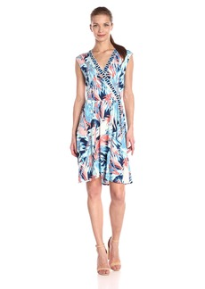 BCBG Max Azria BCBGMax Azria Women's Carmelle Sleevless V-Neck Knit Dress