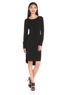 BCBGMax Azria Women's Celia Long Sleeve T-Shirt Dress