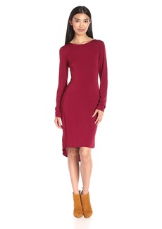 BCBG Max Azria BCBGMax Azria Women's Celia Long Sleeve T-Shirt Dress