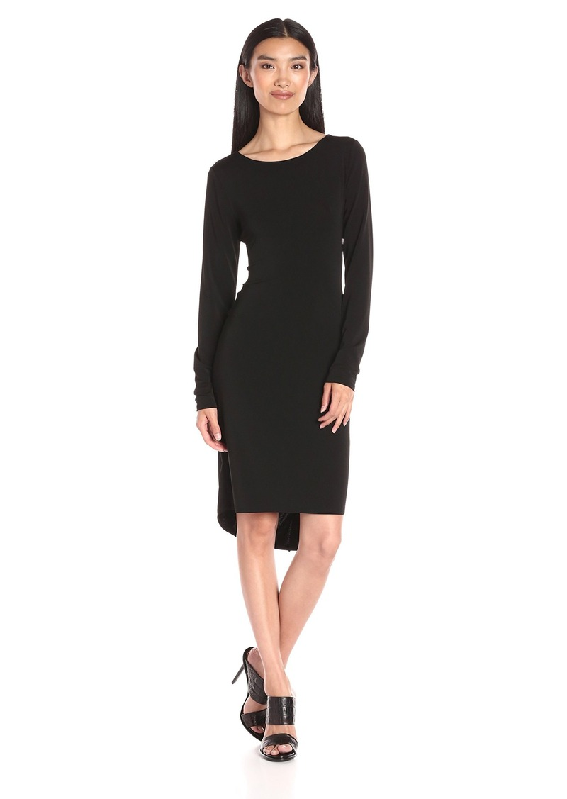 BCBGMax Azria Women's Celia Long Sleeve T-Shirt Dress