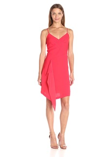 BCBGMax Azria Women's Cornelia Side Drape Dress with Slit