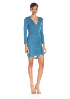 BCBGMax Azria Women's Dalton Cocktail Dress Moroccan Blue