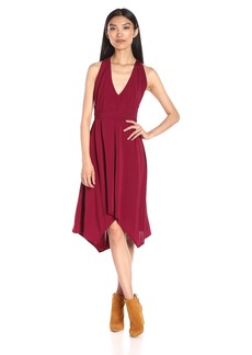 BCBGMax Azria Women's Dara V Neck Dress