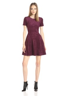 BCBGMax Azria Women's Darra Knit Casual Dress with Heavy Sculpted Jersey