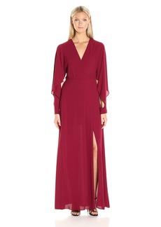 BCBGMax Azria Women's Doran Woven Evening Dress
