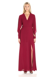 BCBGMax Azria Women's Doran Woven Evening Dress