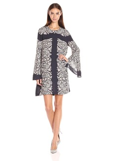 BCBGMax Azria Women's Dulchey Woven City Dress  M