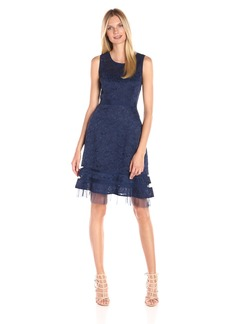 BCBGMax Azria Women's Elaina Sleeveless a-Line Dress