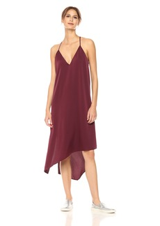 BCBGMax Azria Women's Elana Woven Asymmetrical Tank Dress  S