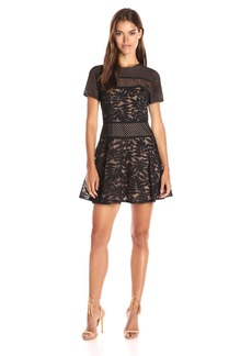 BCBG Max Azria BCBGMax Azria Women's Eleanor Knit Evening Dress