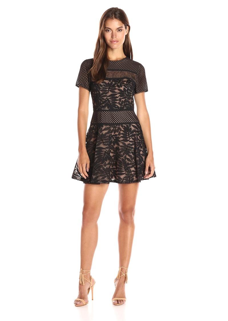 BCBGMax Azria Women's Eleanor Knit Evening Dress