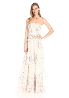 BCBGMax Azria Women's Elle Floral Maxi Dress