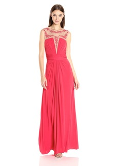 BCBG Max Azria BCBGMAXAZRIA BCBGMax Azria Women's Eris Knit Evening Dress  S