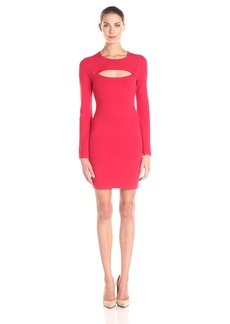 BCBGMax Azria Women's Fyonna Cutout Bodycon Dress