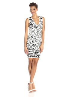 BCBG Max Azria BCBGMax Azria Women's Gari Knit Cocktail Dress