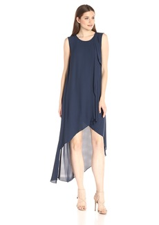 BCBGMax Azria Women's Hailey Asymmetrical Hem Dress