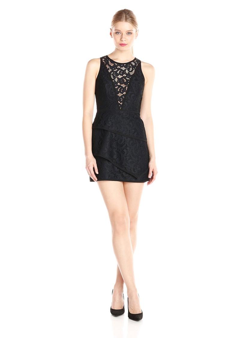 "BCBGMax Azria Women's ""Hanah"" Sleeveless Lace Cocktail Dress"